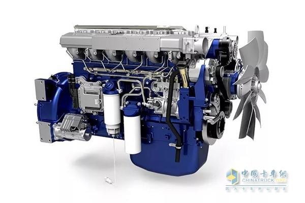 德龙新M3000标准版自卸车匹配康明斯与潍柴双品牌发动机