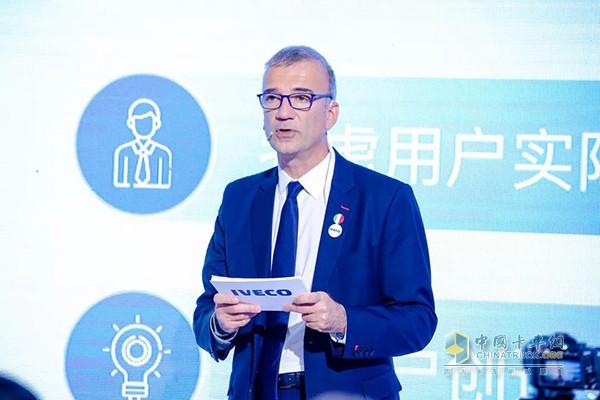 依维柯中国区总经理汤姆·克劳奇