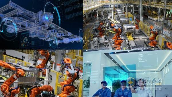 奥铃轻卡采用中国2025智能制造示范基地超级卡车平台