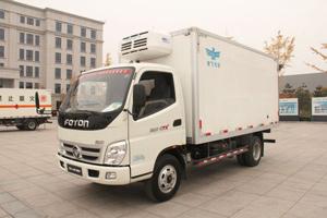 福田奥铃CTX 118马力4×2冷藏车