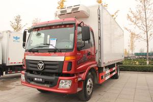 福田欧马可 168马力 4×2冷藏车