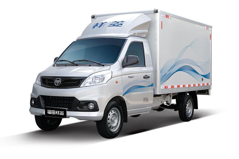 福田祥菱V半承载两用燃料双排厢车