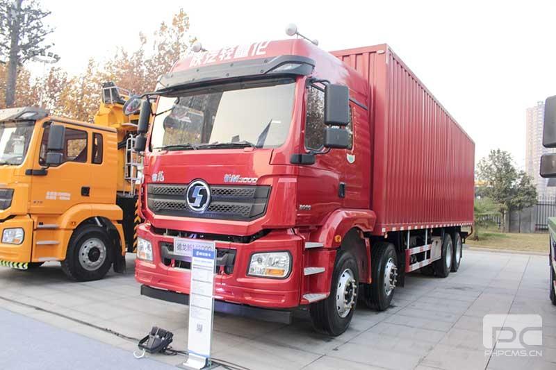 陕汽德龙新M3000绿通版载货车