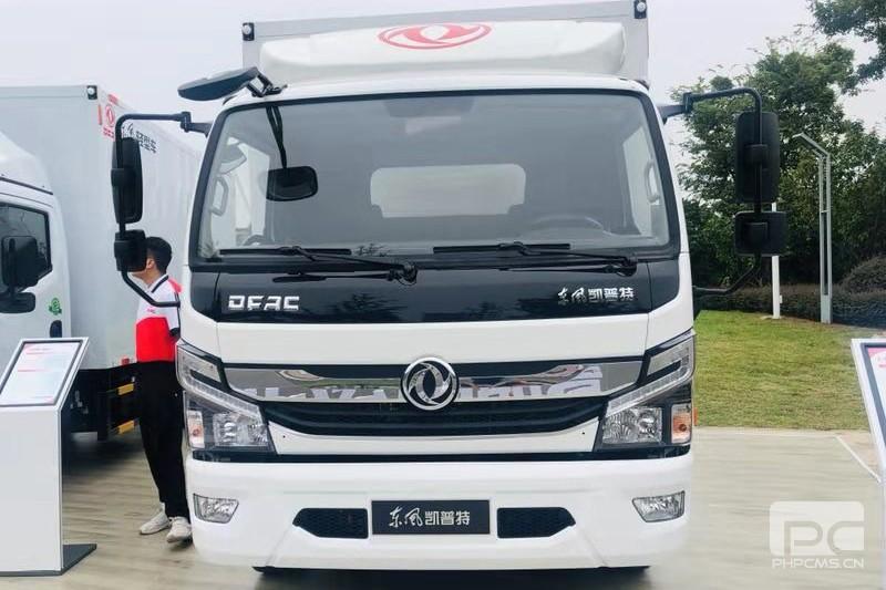 东风 凯普特K6货箱轻卡载货车