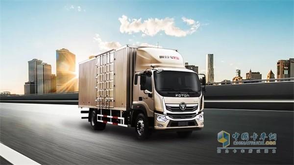 奥铃中卡整车搭载先进的车联网系统及智能设备