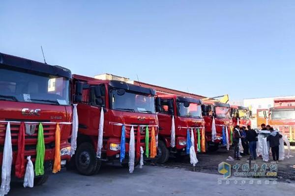 玉柴重型发动机在西藏地区市场相当火爆