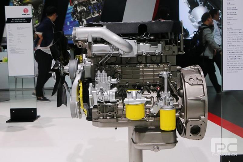 潍柴WP4.1NQ190E61 国六发动机