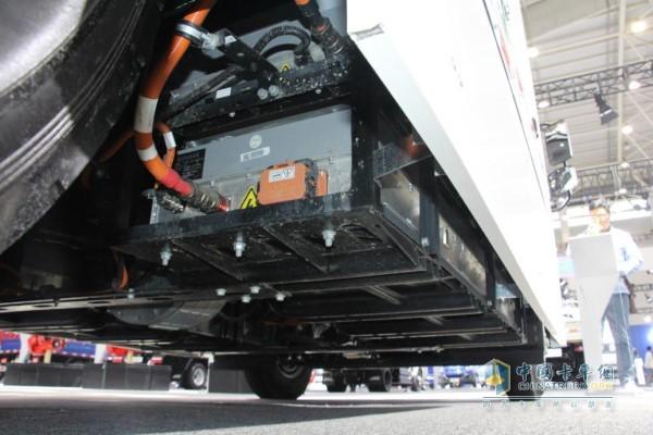 帅铃i5纯电动轻卡动力电池系统