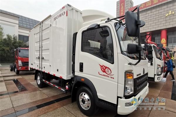 豪沃轻卡 悍将4x2厢式载货车——城配王(潍柴2.3L国五机)