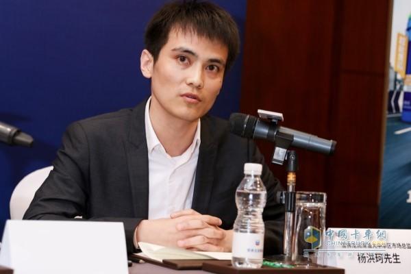 雪佛龙润滑油大中华区市场总监杨洪珂