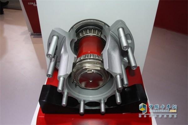 PreSet® R系列鼓式铝制后轮毂