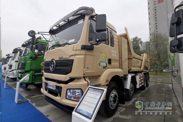 德龙新M3000纯电动渣土车