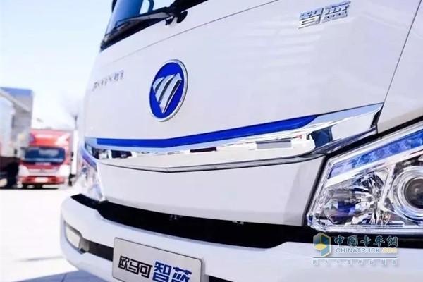 欧马可智蓝纯电动产品充分保障用户的多样化运输需求