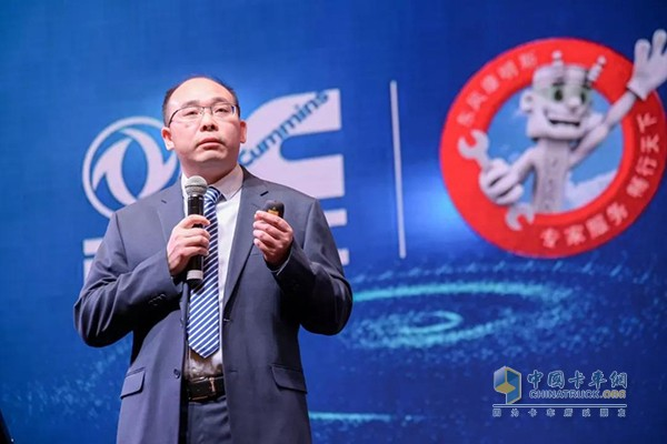 东风康明斯柴油机(陆用发电机组驱动型)有限公司服务总监刘建国先生