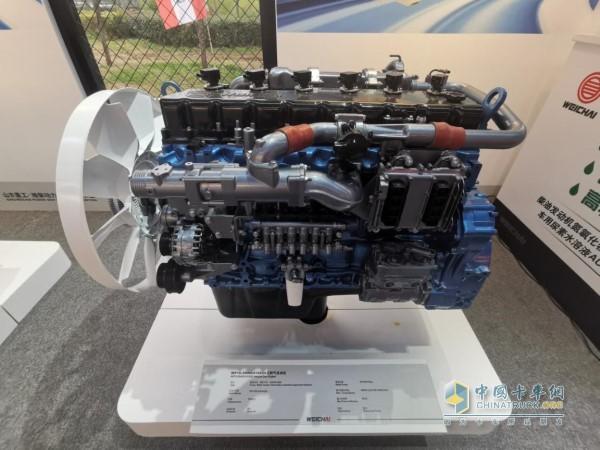 满足细分用户需求,潍柴WP10.5H国六燃气机