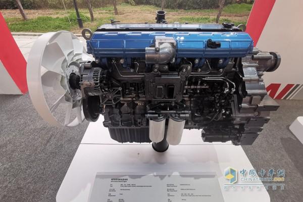 潍柴WP8发动机,专为标载搅拌车、轻量化自卸车和港口牵引车打造
