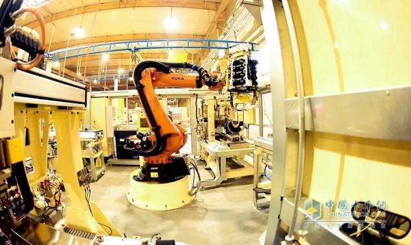 全自动化的生产线