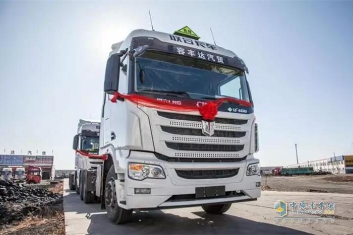 联合卡车U+国六LNG(天然气)牵引车