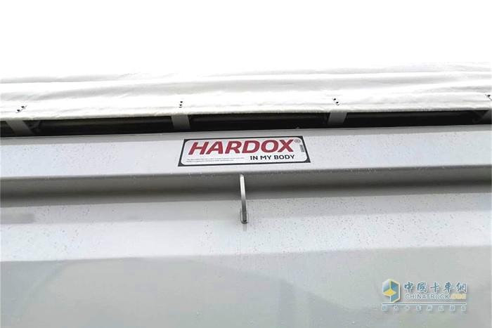 汕德卡上装用料上乘,严把品质关(进口瑞典HARDOX高耐磨钢板材料)