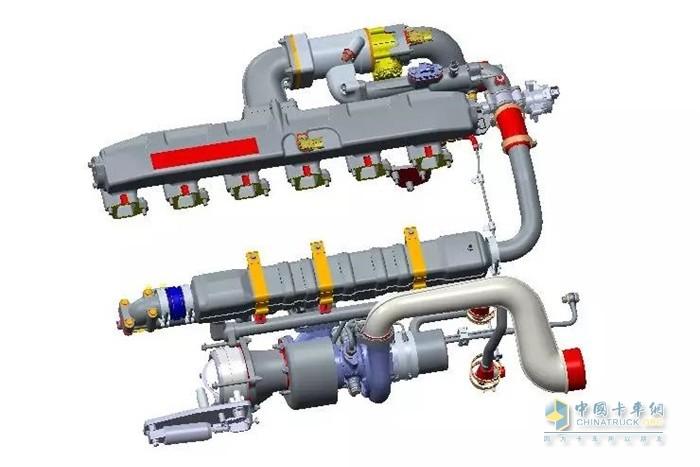 EGR尾气再循环系统