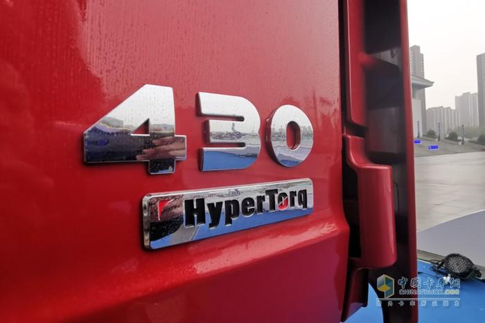搭载了潍柴12L 430马力发动机