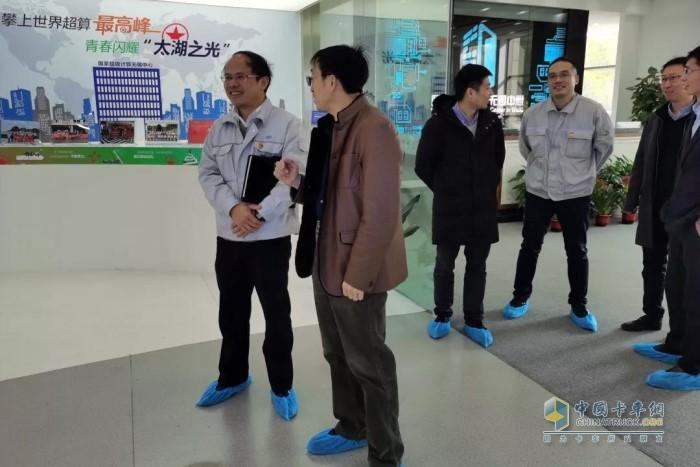 清华大学计算机系高性能技术研究所所长、国家超级计算无锡中心主任杨广文等来一汽解放发动机事业部前瞻院访问
