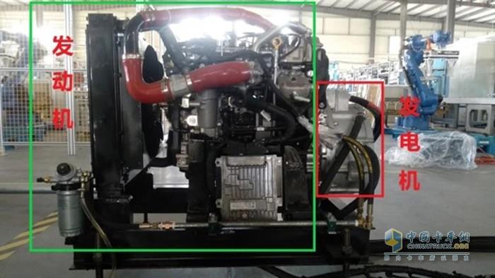 大柴 增程式柴油机