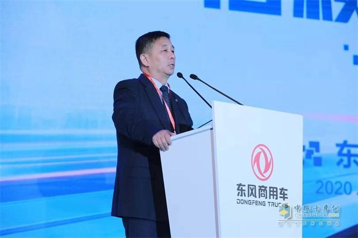 东风商用车有限公司副总经理蒋学锋