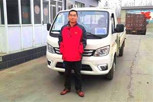 对于田先生来说祥菱微卡承载的不仅是货物,还有希望和远方