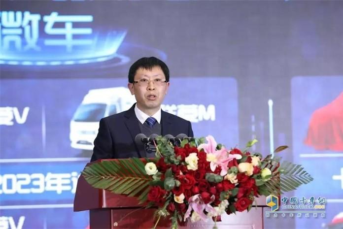 福田汽车副总裁、时代事业部总裁王术海