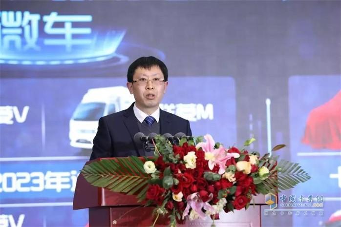福田汽车集团副总裁、时代事业部总裁王术海