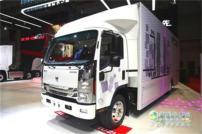 庆铃氢燃料电池卡车