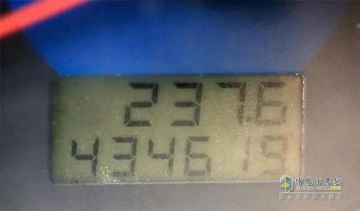 李合金的瑞沃车实现43万公里无大修
