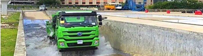 [静态测评]比亚迪T10ZT纯电动渣土车,让城市建设绿色进行