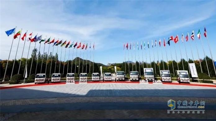 欧航欧马可超级卡车国典款系列产品