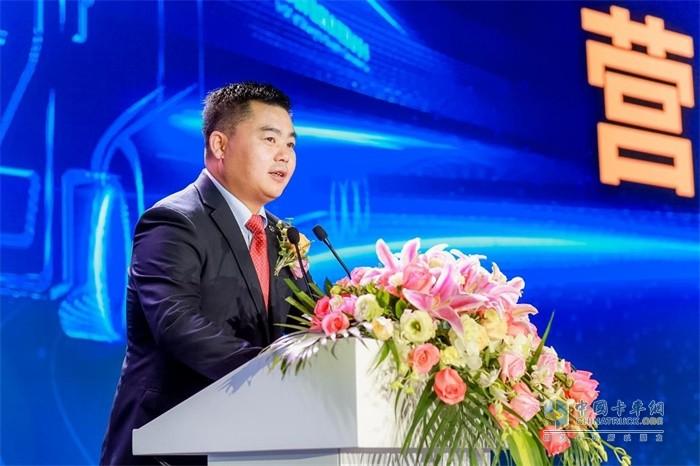 履新上任的上汽红岩副总经理、营销公司总经理杨培强