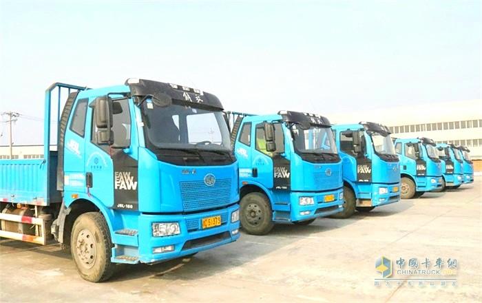 天津宇屹今年春节后或将进一步加大运输车队的规模
