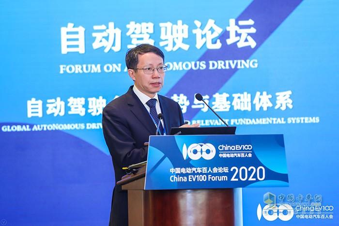清华大学车辆与运载学院教授、汽车安全与节能国家重点实验室主任李克强
