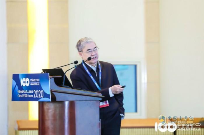 中国工程院院士、中国信息通信科技集团顾问 邬贺铨