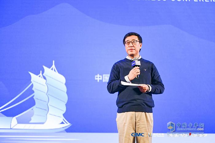 中集集团副总裁李胤辉博士