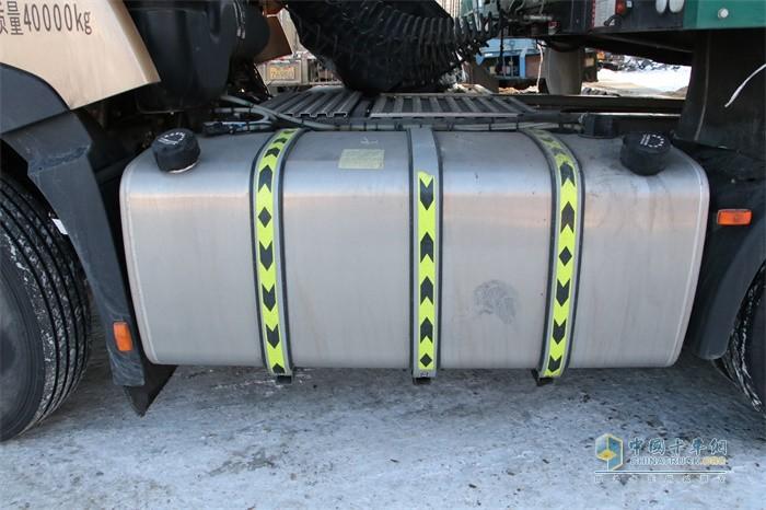 750L铝合金大容量双腔油箱