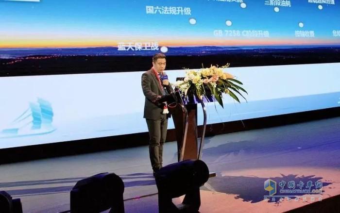 联合卡车技术中心副主任陆何俊
