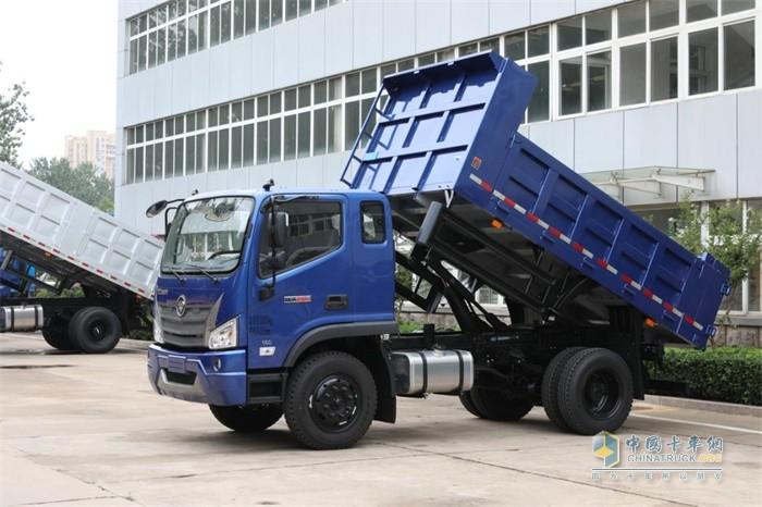 福田瑞沃ES3 4x2自卸车性能优秀