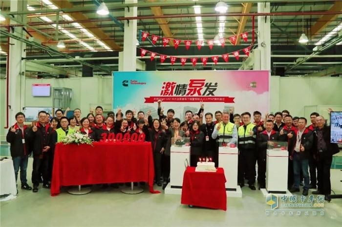 第30万台UA2尿素泵下线及UL2.2开始量产