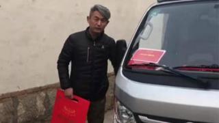 出彩卡车人刘宝--感谢,感恩,一辆福田祥菱让他更向往远方