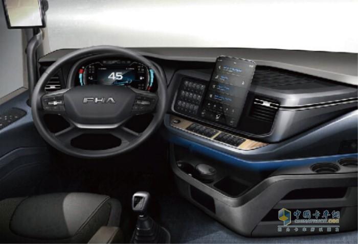 沪尊S200高舒适驾驶室