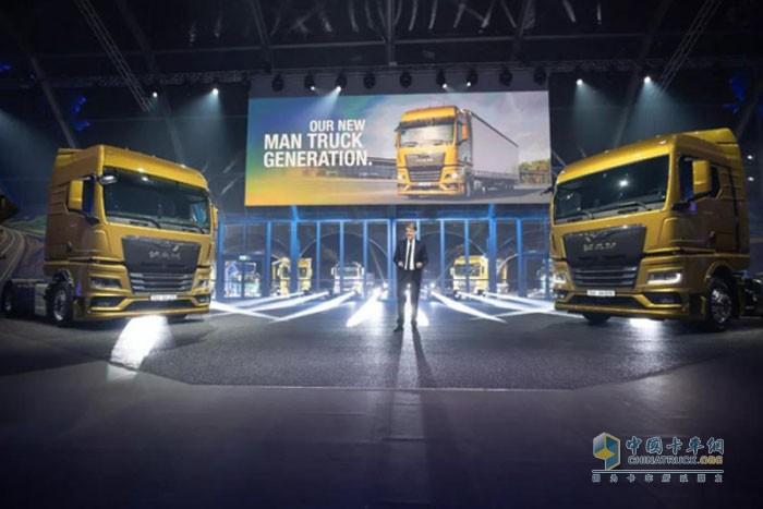 曼恩全新一代TG系列卡车