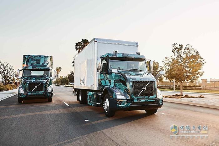 带来更多绿色可能 沃尔沃卡车在北美展示全新重型电动卡车