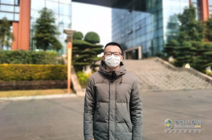 中国汽研整车测评研究中心商用车测试评价组组长徐磊