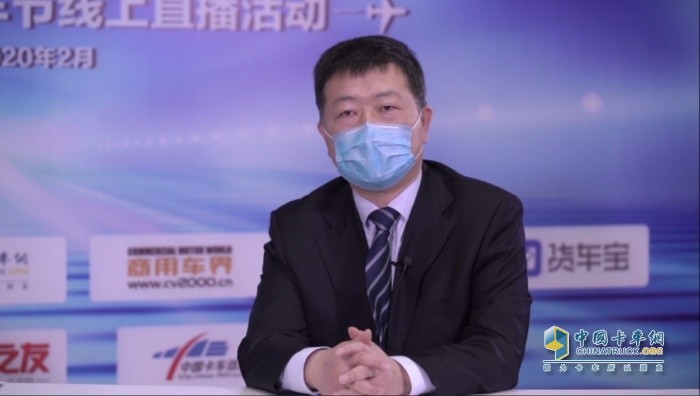 福田集团副总裁、欧航欧马可事业部总裁顾德华